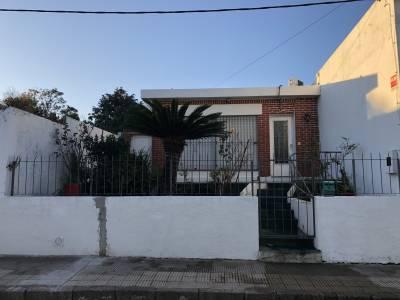 Casa 2 dormitorios, céntrica, amplio patio con jardína