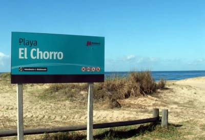 Lote esquinero en El Chorro a 100 metros de la playa