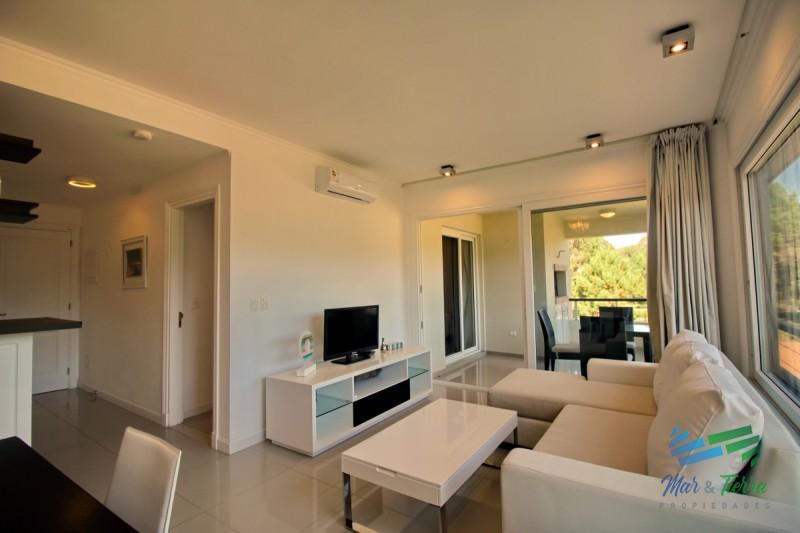 Vendo (Permuto) apartamento 1 dormitorio en Green Park, Solanas, Punta del Este.
