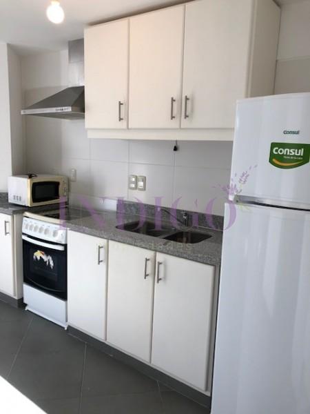 Apartamento Ref.417 - Departamento en alquiler, monoambiente, capacidad para 3 personas.