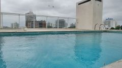Muy lindo duplex penthouse con parrillero a metros de playa !!