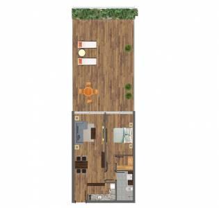 1 dormitorio en Pozo!! Peninsula de Punta del Este