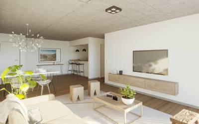 2 dormitorios - Excelente departamento para  vivienda fija!!
