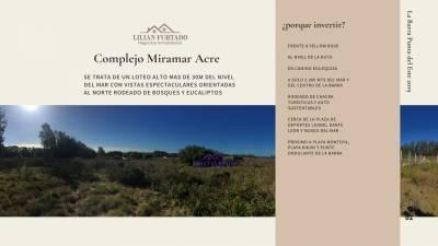 TERRENOS GRUP 6 -Miramar Acre-PUNTA DEL ESTE-EL TESORO