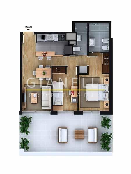 Apartamento ID.48 - Departamento - Aguada