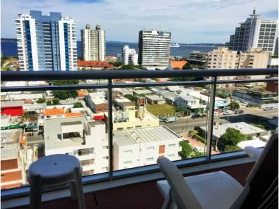 Apartamento en Playa Brava, torre nueva con todos los amenities